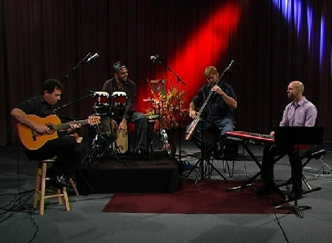 World Jazz Collegium on Baby Blue Arts TV